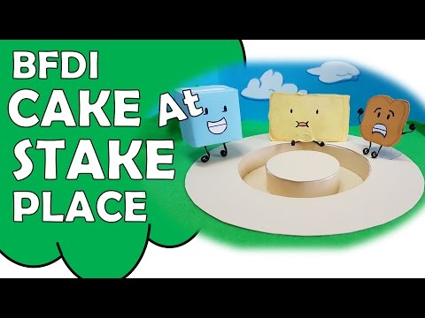 🍰💥Make BFDI Cake At Stake Place 🍰💥