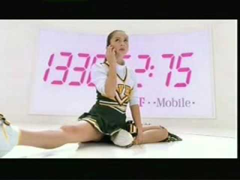 Overly talkative T-Mobile teen commercial