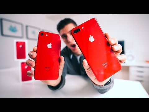 The RED iPhone 8/8 Plus YOU NEED!