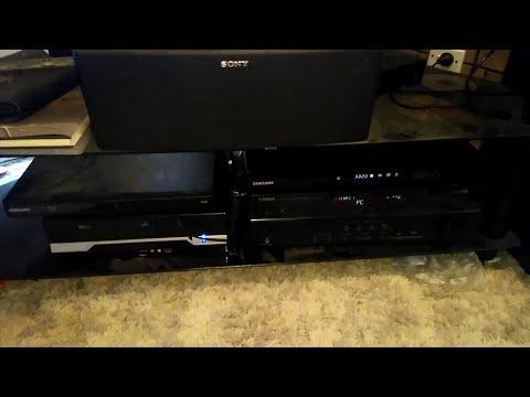Audio/Visual - Surround Sound Amp swap around