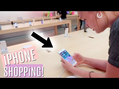 iPHONE SHOPPiNG SPREE! SHOPPiNG MALL VLOG!
