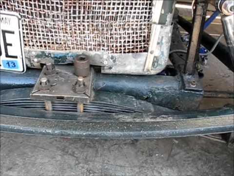 Rat Rod Front Crossmember Repair