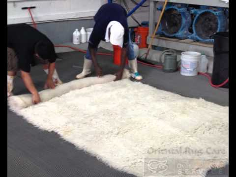 How to Cleansing White Rugs by Skilled Cleaners