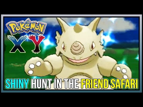 How to Find Shiny Pokemon in the Friend Safari For Pokemon X and Y