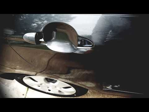 How to unlock car door with child safety lock on
