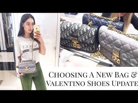 Vlog: Choosing A New Bag   Dior, Gucci, Saint Laurent