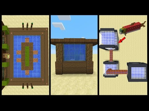 10 Minecraft Aquarium Designs!