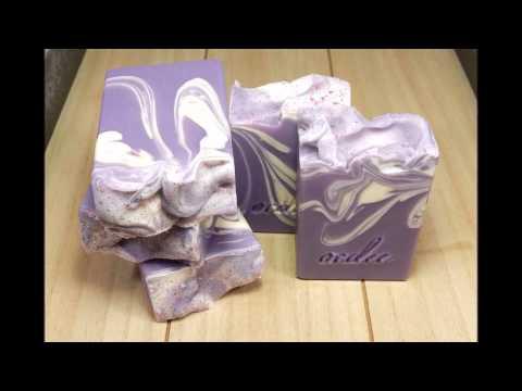 Making Lavender Flowers Artisan Soap