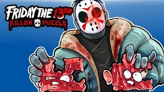 Friday the 13th Killer Puzzle - JASON'S COLD HEART! Ep. 2