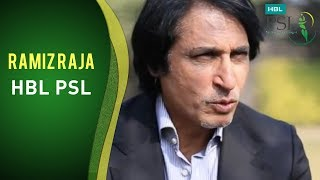 HBL PSL - Ramiz Raja at Silly Point