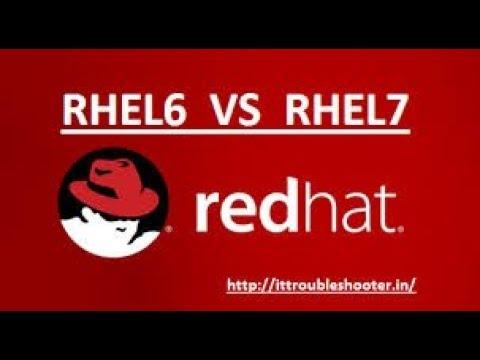 Difference Between RHEL - 6 & RHEL - 7, Video No - 6