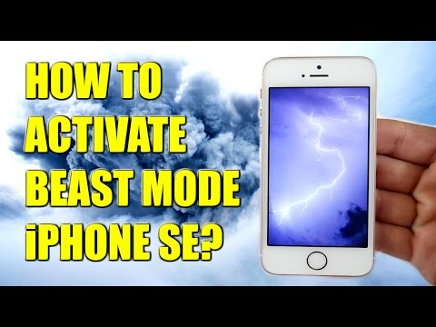 How To Activate BEAST MODE on iPhone SE?