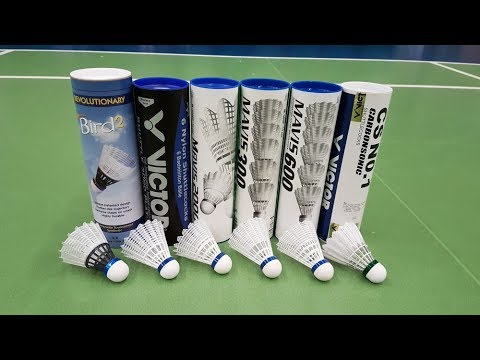 Which is the best Nylon Plastic shuttlecock for Badminton?