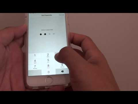 iPhone 6: How to Set a Passcode on Lock Screen