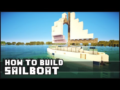 ► Minecraft : How to Make - Sailboat