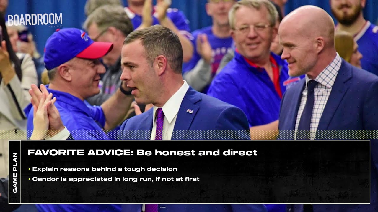 Buffalo Bills GM Brandon Beane on how to win in the NFL   Game Plan