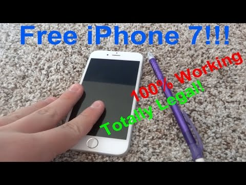 How to get a FREE IPHONE 7!!! No scams!!! 100% real guys!!!