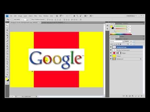 New YouTube Layout Tutorial (Basic Photoshop Tutorial)