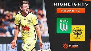 Highlights: Western United v Wellington Phoenix – Round 12 Hyundai A-League 2019/20 Season