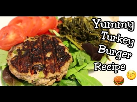 How to Meal Prep Easy: Healthy Meals | Delicious Turkey Burgers Recipe | Sauteed Kale