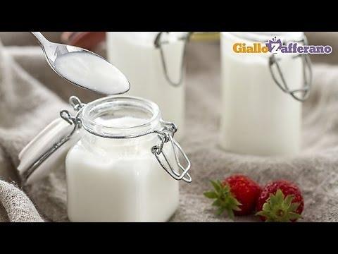 Homemade yogurt - cooking tutorial