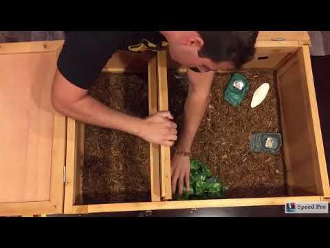 TortoiseTown.com Introduces the ZooMed Tortoise House Tortoise Table Habitat Alternative