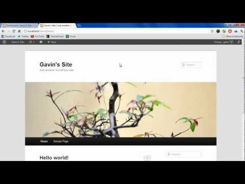 WordPress Tutorial 2 - Creating Database and Installing WordPress