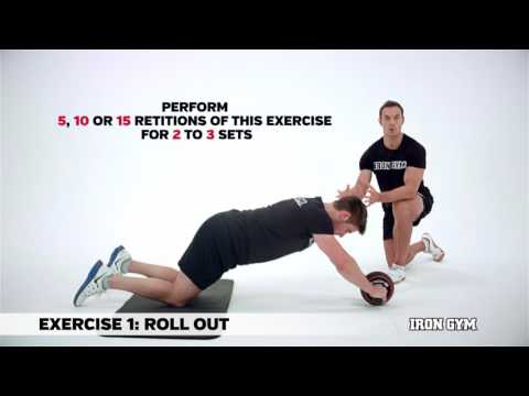 Speed Abs Basic Roll Out - IRON GYM® - Training Academy