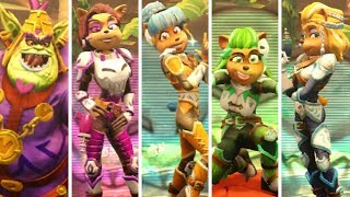 Crash Team Racing Nitro Fueled All New Characters amp Skins Victory Animations amp Gameplay