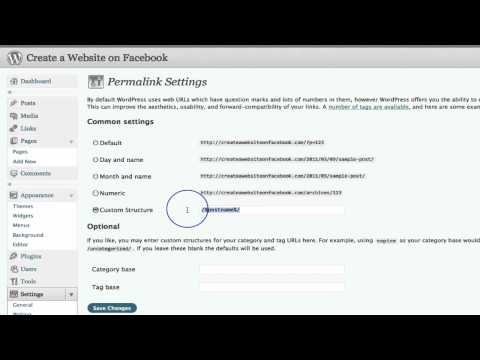 Create a Website on Facebook Part 7 - Creating a Web Page