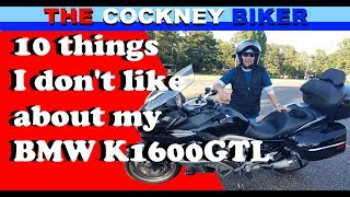 BMW K1600 GTL   Did I bite off more than I could Chew