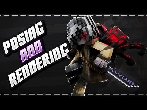 Minecraft Graphics Tutorial (Part 2) - Posing And Rendering (With Settings!) (Cinema 4D)