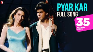Pyar Kar - Full Song | Dil To Pagal Hai | Shah Rukh Khan | Madhuri Dixit | Karisma | Lata | Udit