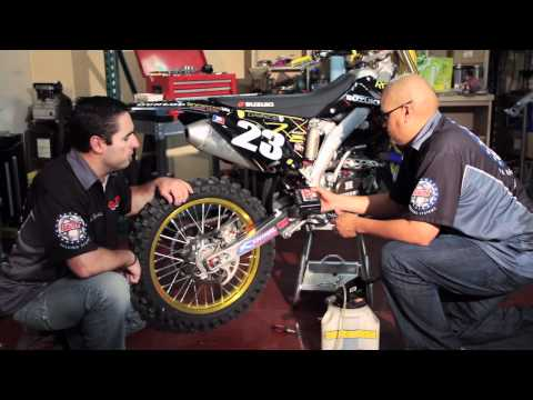 How to Install a Rear Brake Line on an Off Road Motorcycle