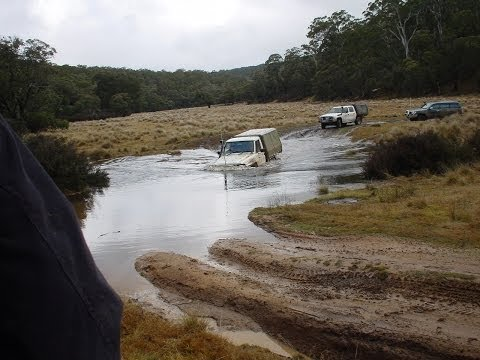 4wd Mud Driving,  Brindabella's, ACT- Nissan Patrol GQ, Jeep Cherokee, Toyota  Landcruiser, etc