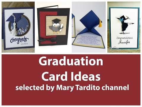 40+ DIY Graduation Cards Ideas - Crafts to Make and Sell