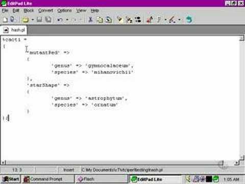Perl Tutorials -Part 26 - Multidimensional hashes