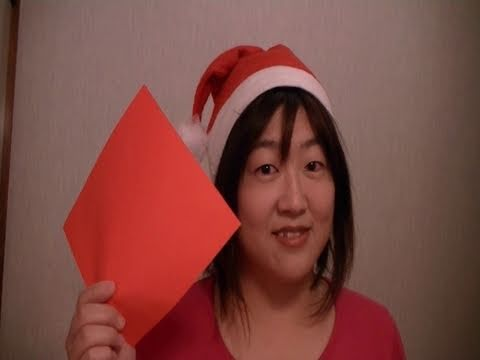 How to make Santa Claus from Origami paper