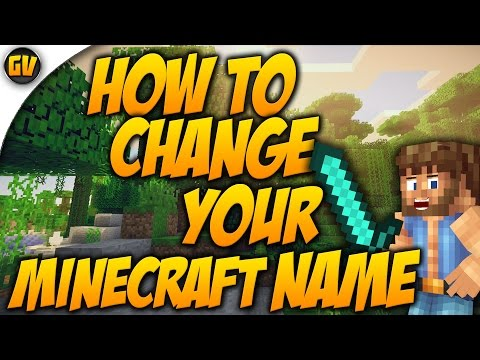 HOW TO (TUTORIAL) CHANGE YOUR MINECRAFT NAME IN 1.7/1.8/1.8.1