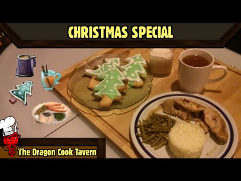 Christmas Special - Sims & WoW - [The Dragon Cook Tavern]