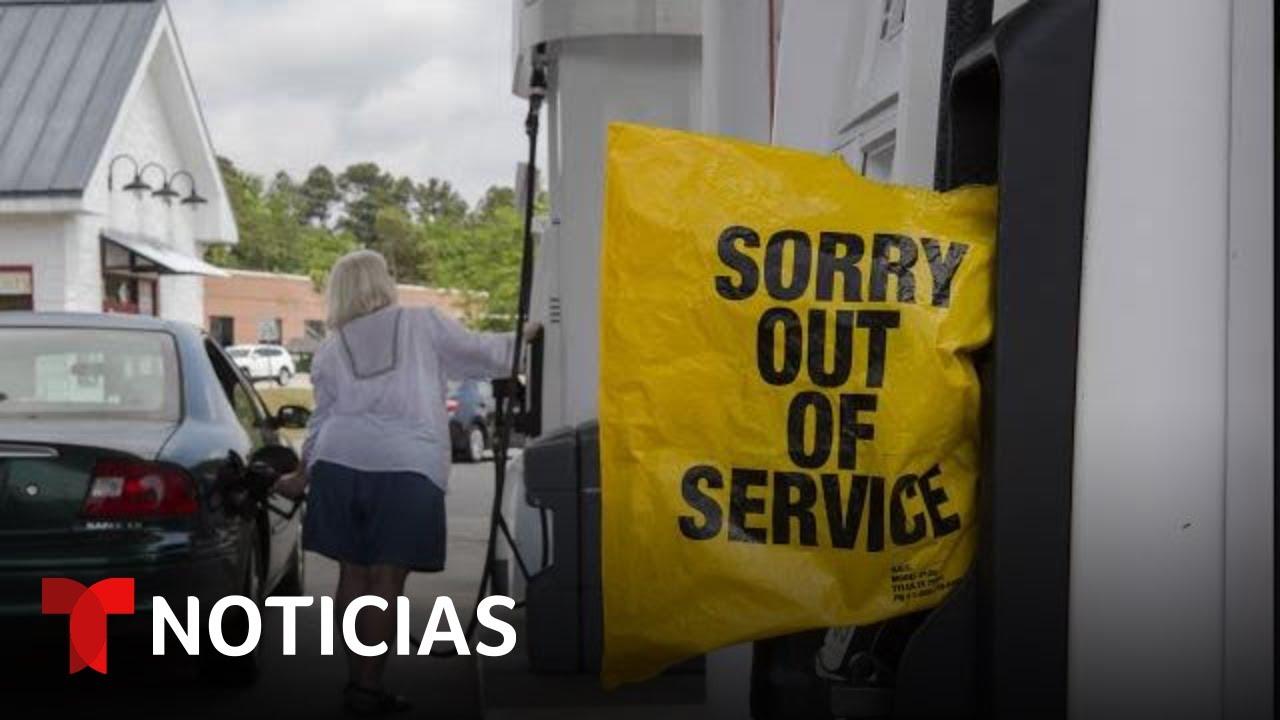 Cuatro estados declaran emergencia por falta de gasolina | Noticias Telemundo