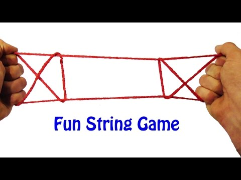 Learn How To Do The Open The Gate String Figure/String Trick - Step By Step