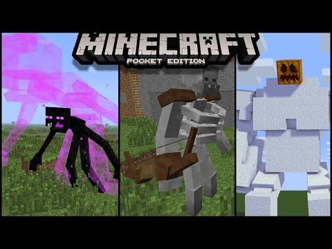 Download Minecraft pe New Mutant mob Addon |  minecraft pe mutant mob addon , mcpe mutant mob addon