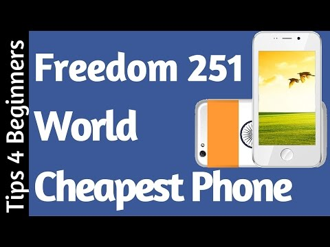 Freedom 251 251 Rs India's Cheapest Phone Android | #freedom251 Ringing Bells 2016
