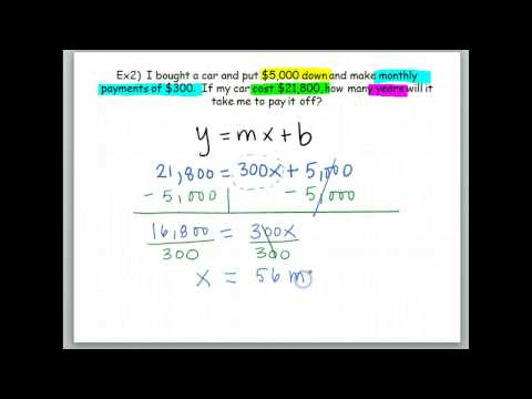 More Word Problems