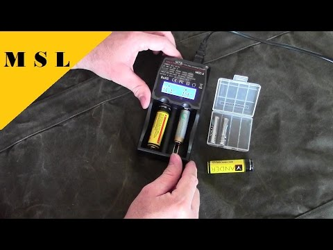 How to Charge your Lithium Ion Batteries properly / Thrunite MCC-2 Charger