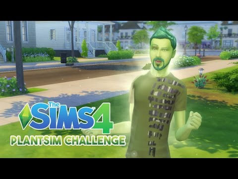 Let's Play The Sims 4    PLANTSIM CHALLENGE    3    BECOMING A PLANTSIM