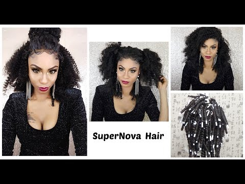 How To: Turn Your Body Wave into Kinky Curly Wig ft SuperNova Hair