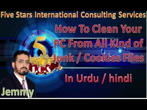 How To Clean Your PC From All Kind of Junk / Cookies Files Easily ( WIth CCleaner ) Urdu / Hindi