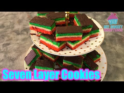 Seven Layer Cookie / Rainbow Cookie